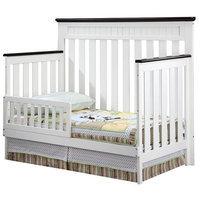 Delta Children Toddler Guardrail - White Ambiance