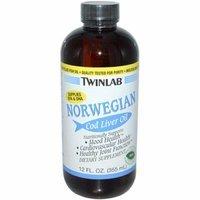 Twinlab Norwegian Cod Liver Oil Mint 12 fl oz