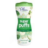 Plum Organics Baby Super Puffs Fruit & Veggie Grain Puffs