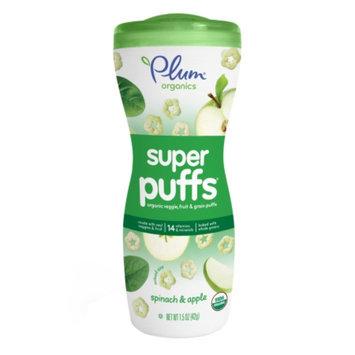 Plum Organics Baby Super Puffs Fruit & Veggie Grain Puffs