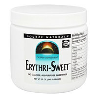 Erythri-Sweet(TM) Source Naturals, Inc. 12 oz Powder
