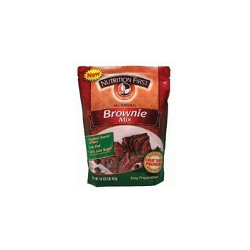 Nutrition First All Natural Brownie Mix - 1 Lb Pouch