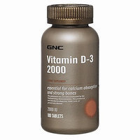 GNC Vitamin D-3 2000