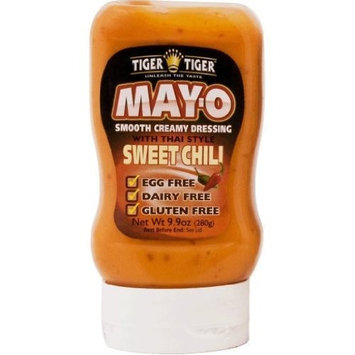 Tiger Tiger Mayo With Thai Sweet Chilli, 9.9-Ounce Bottles (Pack of 6)