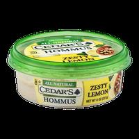 Cedar's Hommus Zesty Lemon