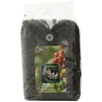 Organic Camano Island Coffee Roasters Sumatra, Medium Roast, Whole Bean, 5-Pound Bag