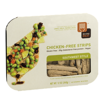Beyond Meat Chicken-Free Strips Southwest Style