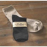 Maggie's Organics, Sock, Og, Herringbone, Black, 3/9/11
