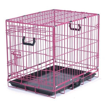 Petedge ZA911 42 75 Crate Appeal Color Crate Lrg Pink Punch S