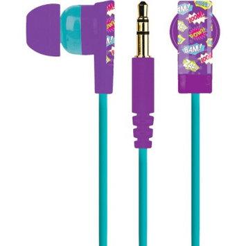 Merkury Innovations Large Headphones - Gumball Sunrise - Blue/Purple