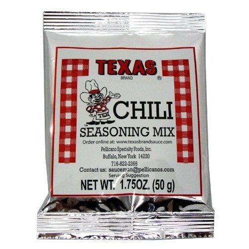 Buffalo's Own Texas Brand Chili Seasoning Mix Packet 1.75oz.
