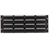 Monoprice Cat6 Patch Panel 110 Type 96 Port (568A/B Compatible)