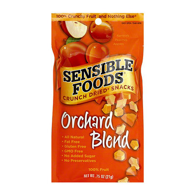 Sensible Foods Crunch Dried Snack Orchard Blend Dried Fruit