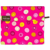 Kushies On The Go Snack Bag - Pink Circle - Small