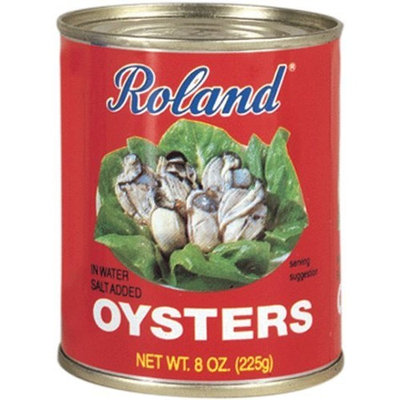 Roland Whole Oysters, 8-Ounce Cans (Pack of 6)