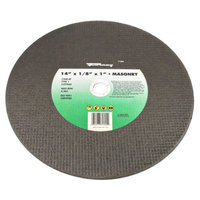 Forney 71895 Chop Saw Blade with 1-Inch Arbor Masonry Type 1 C20R-BF 14-Inch-by-1/8-Inch