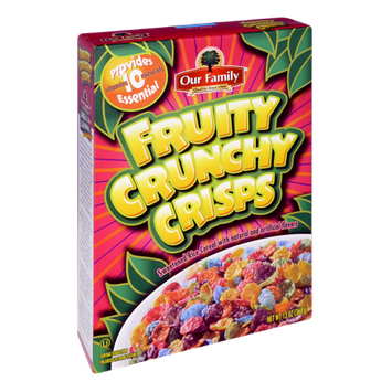 Our Family Fruity Crunchy Crisps Cereal
