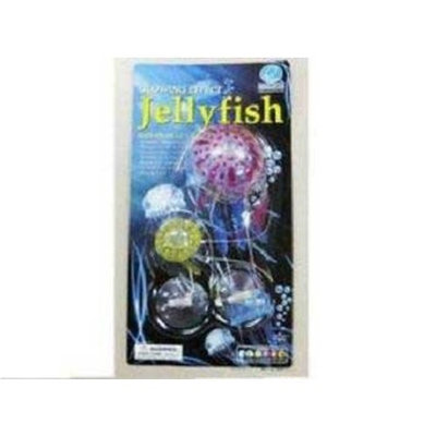 Eshopps AEO21000 2-Pack Jellyfish for Aquarium Decoration, Purple/Yellow