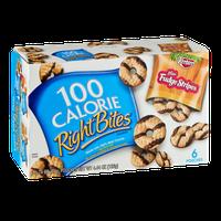100 Calorie Right Bites Mini Fudge Stripes Cookies - 6 CT
