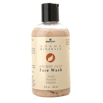 Zion Health Adama Minerals Ancient Clay Face Wash