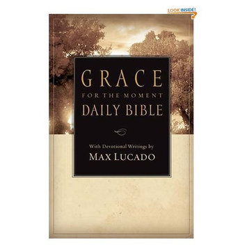 NCV, Grace for the Moment Daily Bible, Paperback, Multicolor