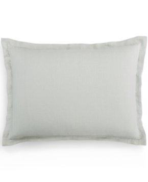 Hotel Collection Spruce Linen Standard Sham Bedding