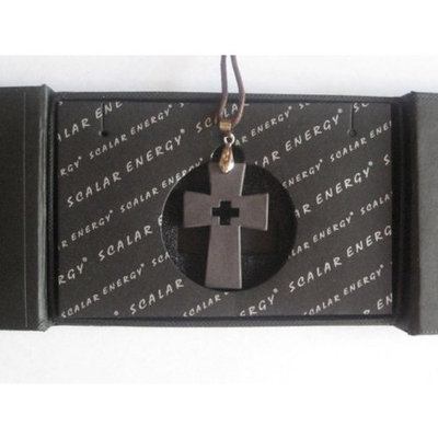 One Quantum Science Scalar Energy Cross Pendant by Quantum Value