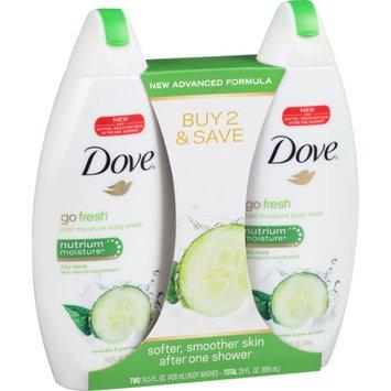Dove Beauty Dove Cool Moisture Body Wash - 2x16 oz