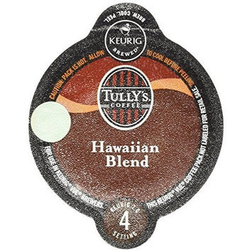 Tullys Coffee Tully's Hawaiian Blend Coffee Keurig Vue Portion Packs, 16 Count