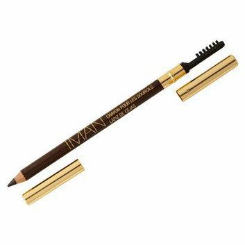 IMAN Eyebrow Pencil- Blackest Brown