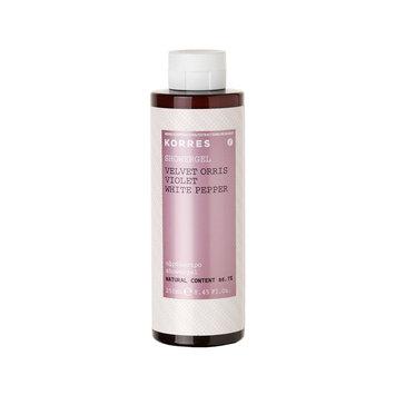 KORRES Velvet Orris/Violet/White Pepper Showergel