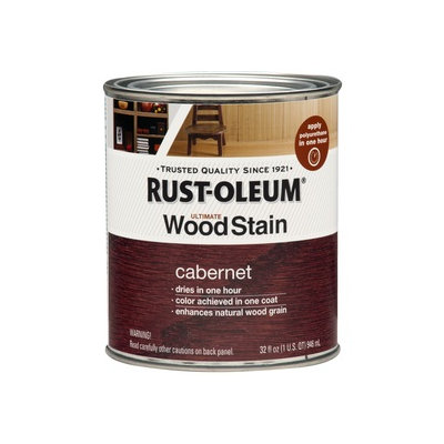 Rust-Oleum Ultimate Wood Stain Cabernet Oil-Based 32 fl oz Interior Stain 271603