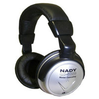 Nady Noise Cancelling Over-the-Ear Headphones (QH-50NC) - Silver