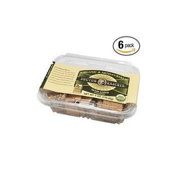Doctor Kracker, Seedlander Snackers, 6-Ounce Packages, (Pack of 6) ( Value Bulk Multi-pack)