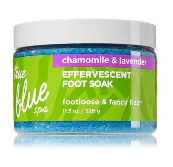 Bath & Body Works True Blue Spa FOOTLOOSE & FANCY FIZZ Effervescent Foot Soak