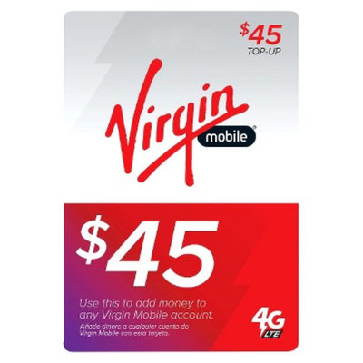 Virgin Mobile 4G LTE $45 Top-Up