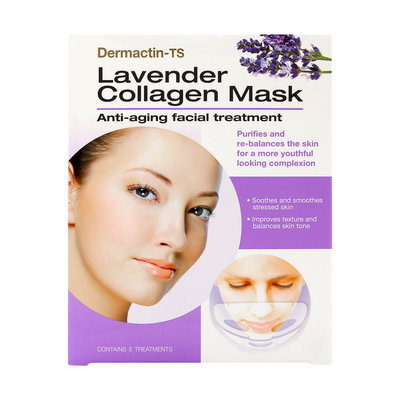 Dermactin - TS Lavender Collagen Mask Anti-Aging Facial Treatment