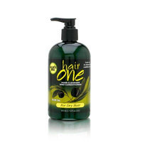 Fiske Hair One Hair Cleanser and Conditioner with Olive Oil