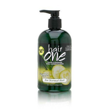 Fiske Hair One Hair Cleanser and Conditioner with Cucumber Aloe
