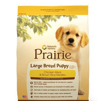 Prairie Large Breed Puppy Chicken Meal & Brown Rice Medley by Nature's Variety 15 lb Bag