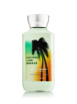 Bath & Body Works Signature Collection COCONUT LIME BREEZE Body Lotion
