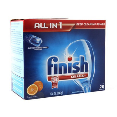 Finish Powerball Tabs Dishwasher Detergent