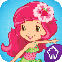 Cupcake Digital Strawberry Shortcake Summer Fun