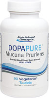 Nutritional Concepts DopaPure Mucuna Pruriens-90-Tablets