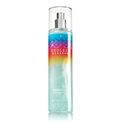 Bath & Body Works® Signature Collection ENDLESS WEEKEND Diamond Shimmer Mist