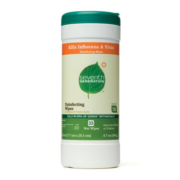 Seventh Generation Disinfecting Wipes - 35 pk
