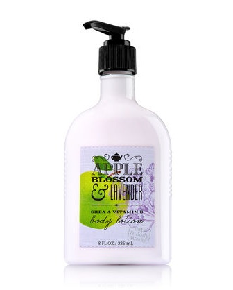 Bath & Body Works® Signature Collection APPLE BLOSSOM & LAVENDER Body Lotion