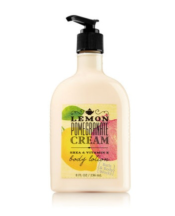 Bath & Body Works® Signature Collection LEMON POMEGRANATE CREAM Body Lotion