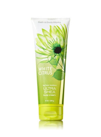 Bath & Body Works Signature Collection WHITE CITRUS Ultra Shea Body Cream