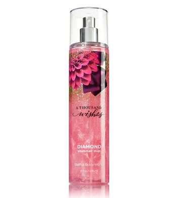 Bath & Body Works® Signature Collection A THOUSAND WISHES Diamond Shimmer Mist